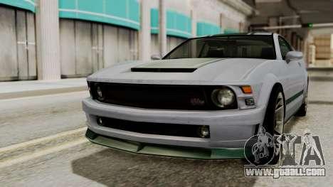 GTA 5 Vapid Dominator SA Style for GTA San Andreas