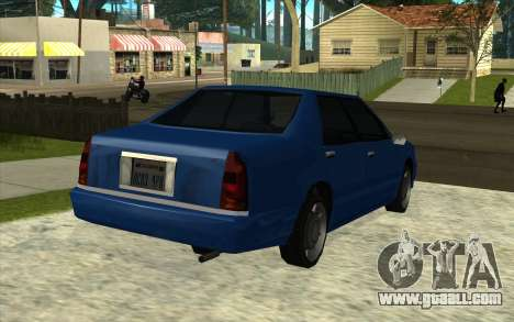 Toyota Crown Majesta GTA Style for GTA San Andreas back left view