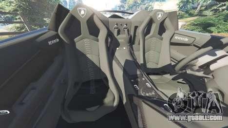 GTA 5 Lamborghini Reventon Roadster [Beta] steering wheel