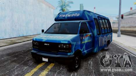 Vinewood VIP Star Tour Bus for GTA San Andreas