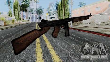 Thompson from Battlefield 1942 for GTA San Andreas second screenshot