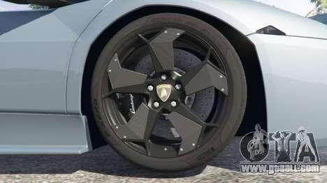 GTA 5 Lamborghini Reventon Roadster [Beta] right side view