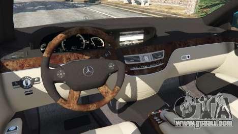 Mercedes-Benz S550 W221 v0.4.2 [Alpha] for GTA 5