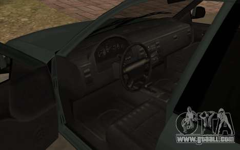Ford Crown Victoria 1995 SA Style for GTA San Andreas inner view