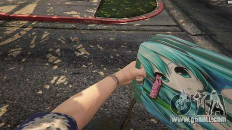 Anime canister for GTA 5
