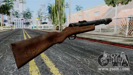 MP18 from Battlefield 1942 for GTA San Andreas second screenshot
