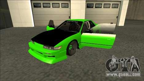 Nissan Silvia S13 Drift Monster Energy for GTA San Andreas back view