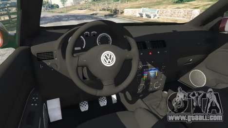 GTA 5 Volkswagen Bora right side view