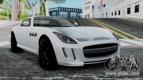 GTA 5 Benefactor Surano v2 for GTA San Andreas