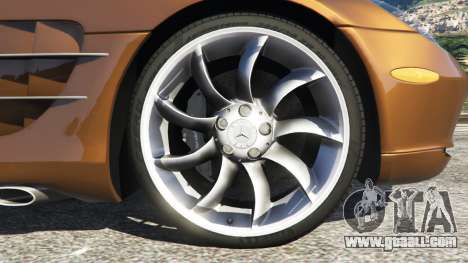 GTA 5 Mercedes-Benz SLR McLaren 2015 rear right side view