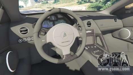 GTA 5 Lamborghini Reventon Roadster [Beta] front right side view