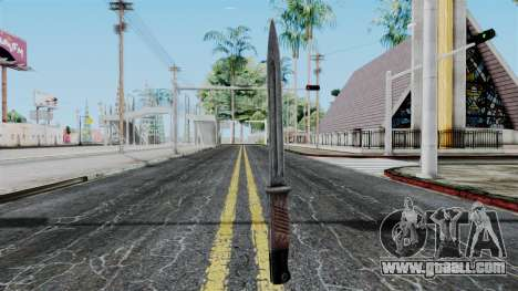 KAR 98 Bayonet from Battlefield 1942 for GTA San Andreas second screenshot