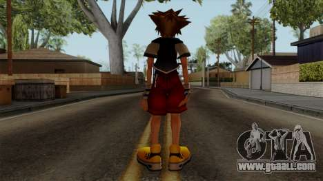 Kingdom Hearts 2 - Sora KH1 Costume for GTA San Andreas third screenshot