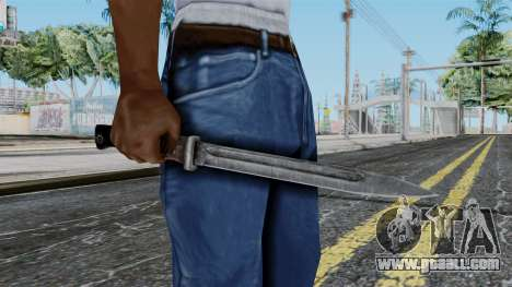 KAR 98 Bayonet from Battlefield 1942 for GTA San Andreas third screenshot