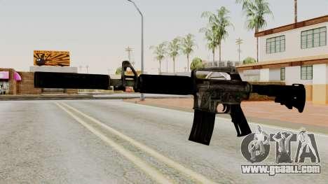 M4A1-S Basilisk for GTA San Andreas