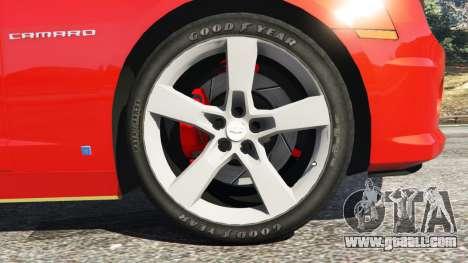 Chevrolet Camaro SS 2010 [Beta] for GTA 5