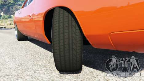 GTA 5 Dodge Charger 1970 Fast & Furious 7 right side view