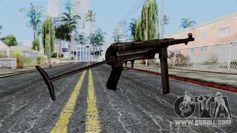 MP40 from Battlefield 1942 for GTA San Andreas second screenshot