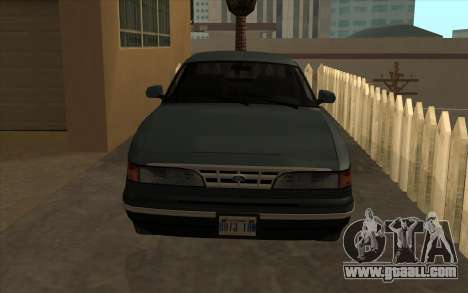 Ford Crown Victoria 1995 SA Style for GTA San Andreas left view
