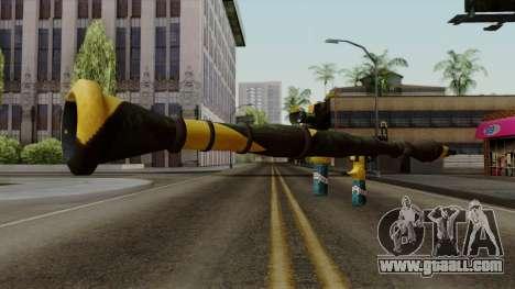 Brasileiro Rocket Launcher v2 for GTA San Andreas third screenshot