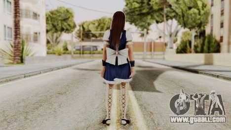 DOA 5 Leifang Maid for GTA San Andreas third screenshot
