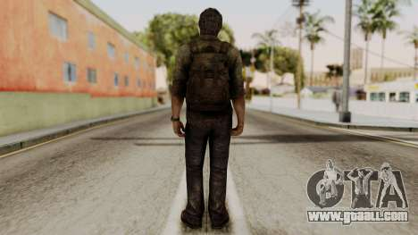 Joel - The Last Of Us for GTA San Andreas third screenshot