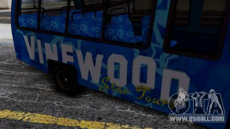 Vinewood VIP Star Tour Bus for GTA San Andreas right view
