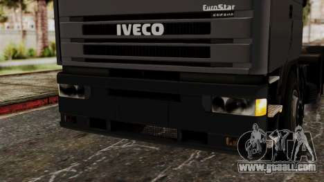 Iveco EuroStar Low Cab for GTA San Andreas side view
