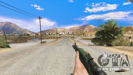 GTA 5 AEK-971 из Battlefield 4 fourth screenshot