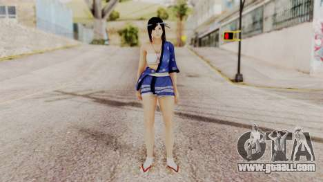 DOA 5 Kokoro DLC for GTA San Andreas second screenshot