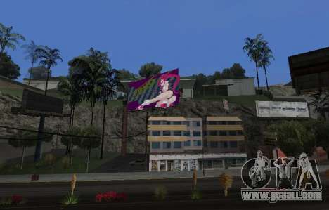 Candy Suxx billboard replacement for GTA San Andreas second screenshot