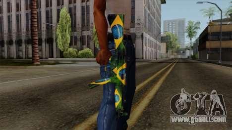 Brasileiro MP5 v2 for GTA San Andreas third screenshot