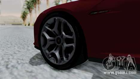 Lamborghini Asterion Concept 2015 v2 for GTA San Andreas back left view