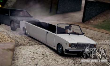 VAZ 2107 limousine for GTA San Andreas