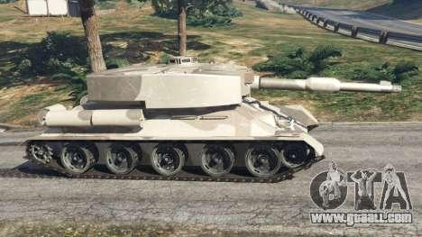 GTA 5 Т-34 custom left side view