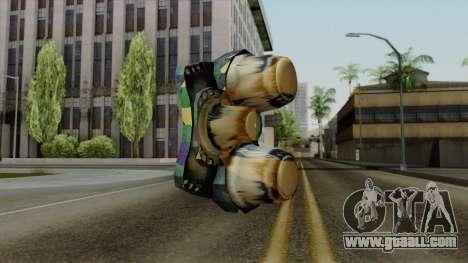 Brasileiro NV Goggles v2 for GTA San Andreas