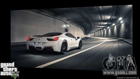 Supercars Loading Screens for GTA 5