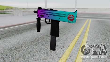 MAC-10 Hotline Miami for GTA San Andreas second screenshot