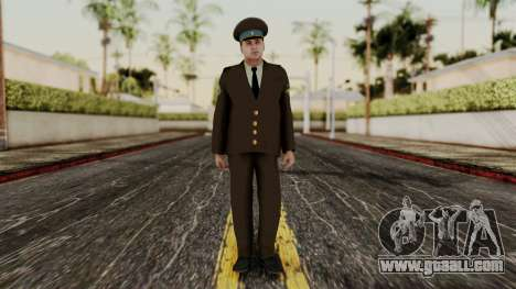 Senior warrant officer of the air force for GTA San Andreas second screenshot