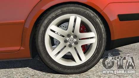 GTA 5 Volkswagen Bora rear right side view