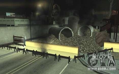 Road repair v2.0 for GTA San Andreas