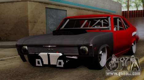Chevrolet Nova SS for GTA San Andreas