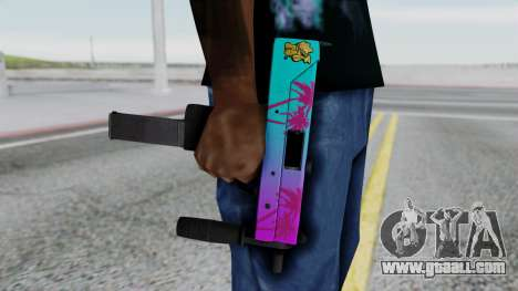 MAC-10 Hotline Miami for GTA San Andreas third screenshot