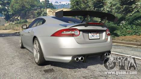GTA 5 Jaguar XKR-S GT 2013 rear left side view