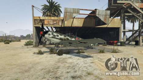 GTA 5 Messerschmitt BF-109 E3 v1.1 third screenshot
