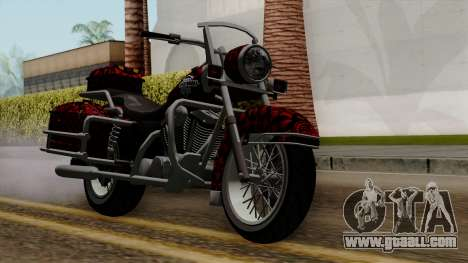 Classic Batik Motorcycle for GTA San Andreas