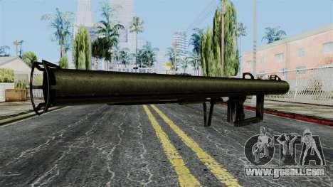 Panzershreck from Battlefield 1942 for GTA San Andreas second screenshot
