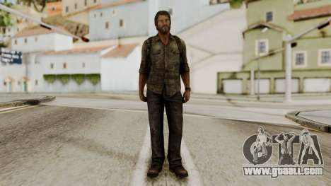 Joel - The Last Of Us for GTA San Andreas second screenshot