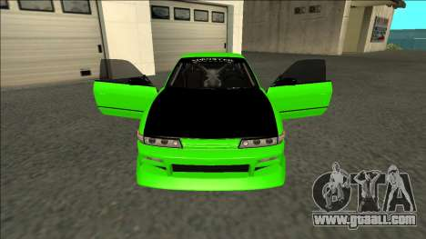 Nissan Silvia S13 Drift Monster Energy for GTA San Andreas inner view
