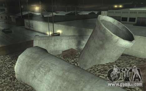 Road repair v2.0 for GTA San Andreas seventh screenshot